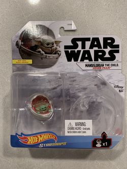 Hot Wheels Starships Mandalorian Baby Yoda The Child Hover Pram *MINT* Star Wars Grogu for Sale in Lewisville,  TX