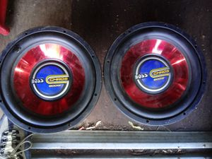12 inch Audio speakers for Sale in Providence, RI