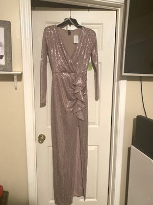 Metallic Sequins Wrap Dress for Sale in Acworth, GA