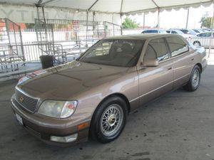 1998 Lexus LS 400 Luxury Sdn for Sale in Gardena, CA