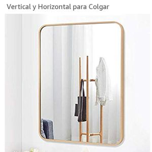 Wall mounted mirror round corner for Sale in Los Angeles, CA
