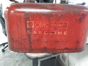 Ratrod outboard boat motor fuel tank/fuel cell for Sale in San Antonio, TX