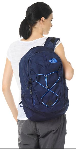 New with Tags — THE NORTH FACE Navy & Bright Blue Large Adult Backpack for School/College or Outdoors — PRICE FIRM ✅ SAME DAY PICK UP REQUIRED‼️ for Sale in Dallas, TX