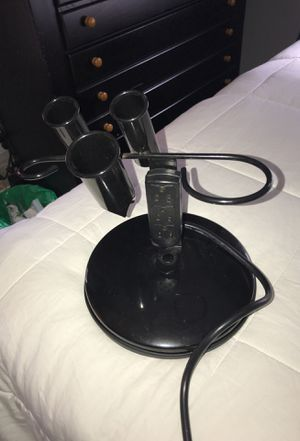 Hair dryer/straighter holder with outlets for Sale in Winthrop, MA