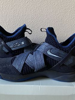 Nike LeBron Zoom Soldier 12/ Blackened Blue for Sale in Hillsboro,  OR