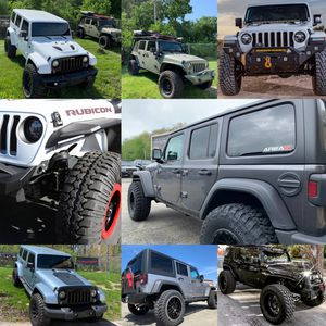 Jeep Wrangler JK JL Gladiator Lift Kit Wheel Tire Packages In Stock! for Sale in Rockdale, IL