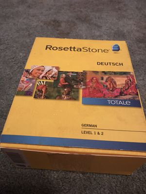 RosettaStone German for Sale in Slidell, LA