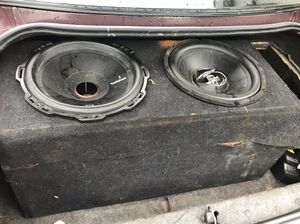 Car speakers 12s for Sale in Cleveland, OH