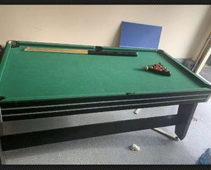 Pool and air hockey table for Sale in Stafford Courthouse, VA