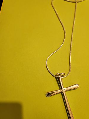 Sterling silver cross necklace for Sale in Washington, DC