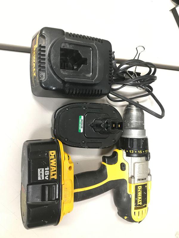 18v dewalt hammer drill