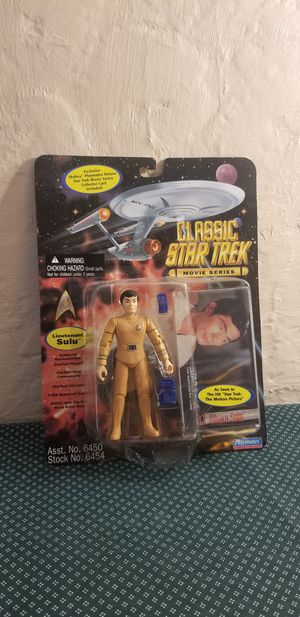 """Playmates Classic Star Trek Movie Series Lieutenant Sulu 4.5"""" Action Figure New for Sale in St. Louis, MO"""