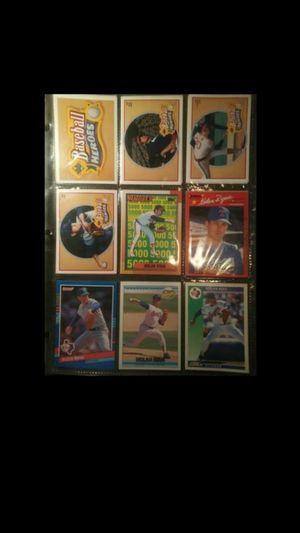 Nolan Ryan baseball cards set 100+ for Sale in Tallahassee, FL