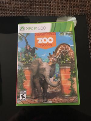 Xbox 360 zoo tycoon game for Sale in Columbus, OH