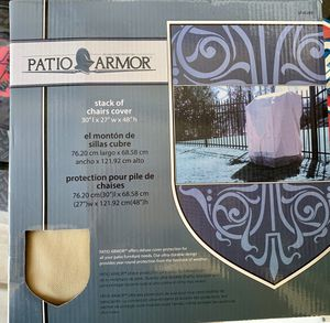 "Patio Armor Stack of Chairs Cover, 30""/27""/48"" for Sale in Lathrop, CA"