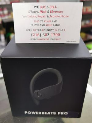 The newest version of powerbeats pro sealed and never used $225 used $200 for Sale in Cleveland, OH