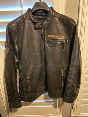 Harley Davidson 115 Anniversary Leather Jacket XL for Sale in Frisco, TX