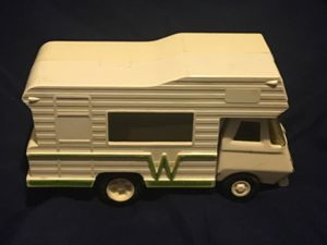 Vintage Tonka Winnebago toy camper  Maybe 1/32 sca