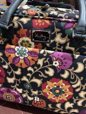 Vera Bradley rolling work bag (Suzani design) for Sale in Windermere, FL