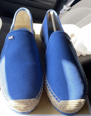 Michael Kors Blue slip on shoes for Sale in Apple Valley, CA