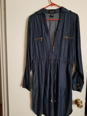 Blue denim look dress for Sale in St. Louis, MO