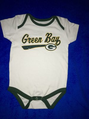 👶🏻Green Bay Packers onesie. Add it to your baby shower gift 🎁 for Sale in Greenville, WI
