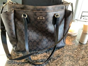 Coach baby bag for Sale in Riverside, CA