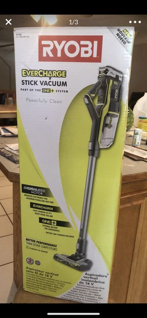 Ryobi 18-Volt ONE+ Lithium-Ion Cordless Stick Vacuum Cleaner BNWB for Sale in Safety Harbor, FL
