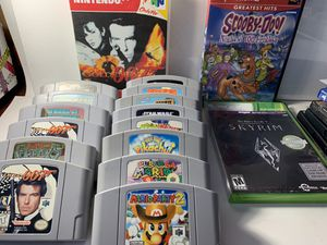 N64 game lot with ps2 and xbox360 game. Offers? for Sale in Sugar Hill, GA