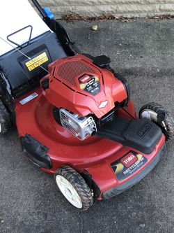 Lawn Mower Toro Recycler Self Propelled Smart Stow for Sale in Alexandria,  VA