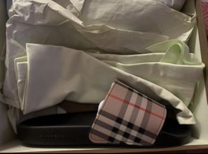 Burberry checkered slides for Sale in Inglewood, CA