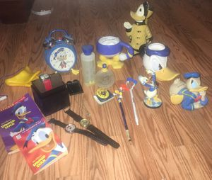 Donald Duck collector bundle for Sale in Colton, CA