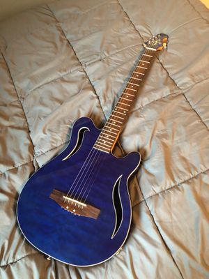 Blue guitar for Sale in Williamsport, PA