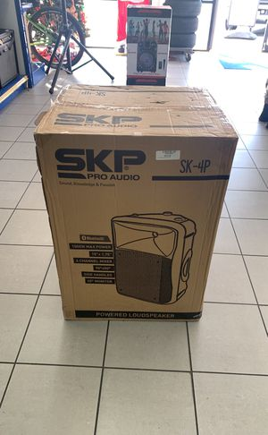 Sko pro audio Speaker Bluetooth for Sale in Orlando, FL