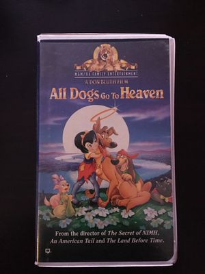 All Dogs Go To Heaven VHS tape for Sale in Pasco, WA