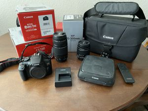 Canon Rebel T6 Camera Bundle for Sale in Imperial, CA
