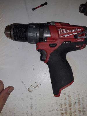 Milwaukee m12 fuel hammer drill w/battery for Sale in Hemet, CA