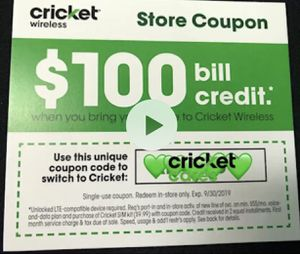 $100 Bill credit* for Sale in Crestview, FL
