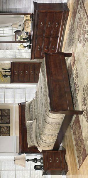 🧿BRAND NEW 🧿Alisdair Dark Brown Sleigh Bedroom Set | B376 for Sale in Jessup, MD