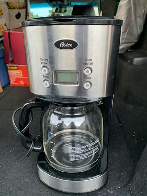 Oster 12 cup coffee maker for Sale in West Springfield, VA