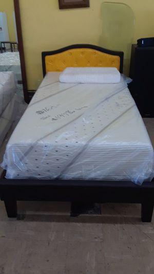 "NEW TWIN BED $99/12""TWIN MEMORYGEL MATTRESS $140 for Sale in San Bernardino, CA"