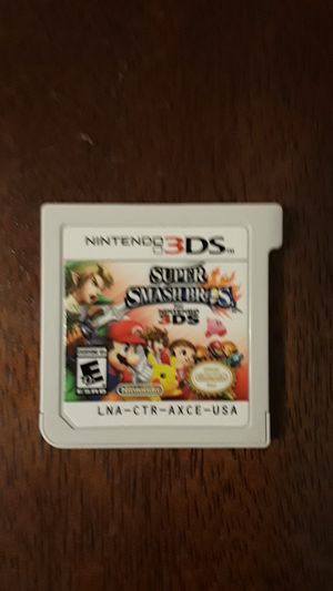 Super smash Bros 3DS for Sale in Dallas, TX