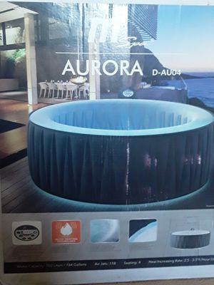Aurora Inflatable hot tub for Sale in Las Vegas, NV