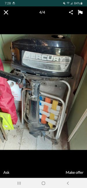 Mercury 15hp boat motor for Sale in Sunnyside, WA