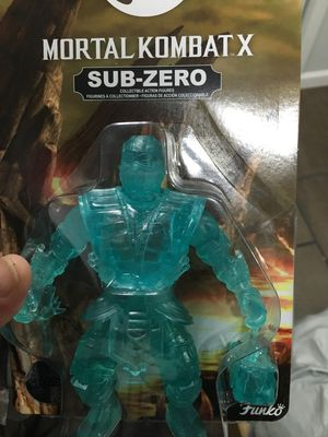 funko mortal kombat x sub zero collectible action figure for Sale in Washington Township, NJ