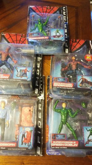 Spider man action figures make me an offer for Sale in San Jose, CA
