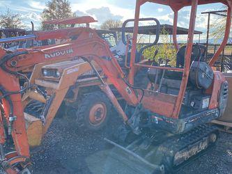 2000 Kubota Mini Diesel Excavator for Sale in Fairfield,  CA