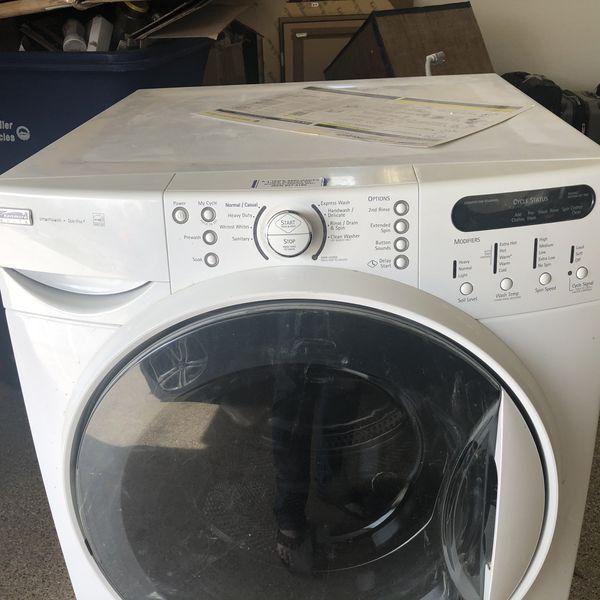 Kenmore elite front load washer.