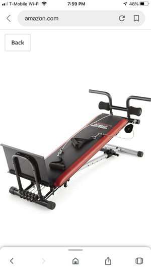 Weirder ultimate body works exercise machine/bench for Sale in Renton, WA