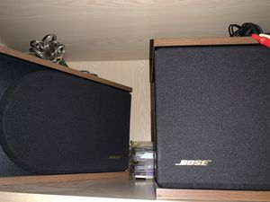 """Two Bose speakers 15""""w 7.5"""" d, 9.75""""l for Sale in Mukilteo, WA"""